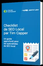 Checklist de SEO Local par Tim Capper