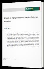 Cinq habitudes des traducteurs très bien établis : interaction avec les clients