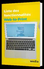Liste des fonctionnalités pour votre projet de Web-to-Print