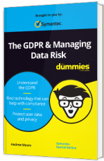 The GDPR & Managing Data Risk for dummies