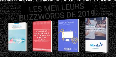 Les meilleurs buzzwords de 2019