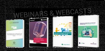 Webinars et webcasts : les clés pour tout comprendre